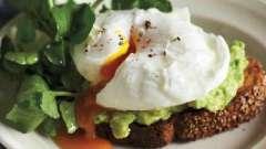 Страви на сніданок або як варити яйце пашот