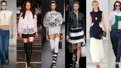 Головні модні тренди весна-літо 2015