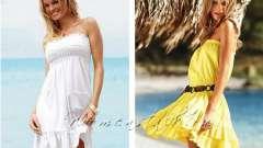 Як зшити пляжне плаття самим швидко і просто. Частина 3
