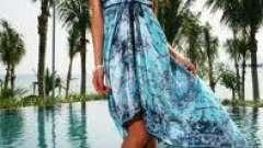 Як виглядати стильно на пляжі. Модні пляжні сукні з фото