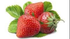 Маски з полуниці - смачна користь.