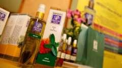 Масла hefesti olive oil plus на виставці intercharm