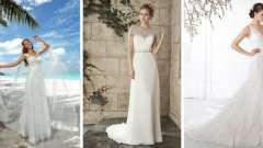 Моделі весільних суконь з тафти
