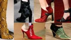 Модне взуття осінь-зима 2014-2015