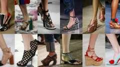 Модне взуття весна-літо 2016
