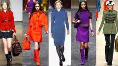 Модні кольори 2012