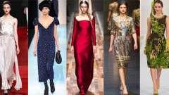 Модні сукні осінь-зима 2013-2014