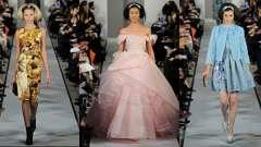 Модні сукні осінь-зима 2012-2013