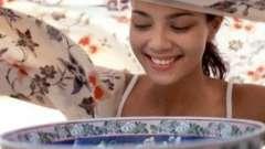 Парові ванночки для обличчя - очищають і пом`якшують шкіру.