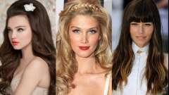 Зачіски на випускний 2014 для довгого волосся