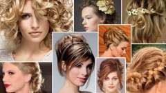 Зачіски на випускний для середніх волосся (31 фото)