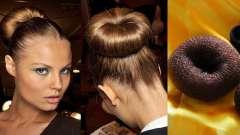 Зачіски з валиком для волосся
