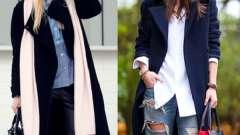 З чим носити чорне пальто - модні поради