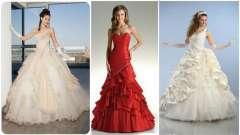 Наймодніші весільні сукні - фото