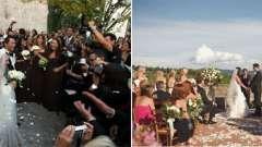 Сценарій весілля в італійському стилі