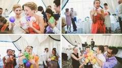 Весільні конкурси з кульками