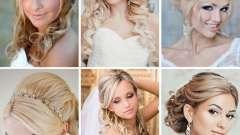 Весільні зачіски для блондинок