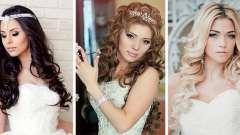 Весільні зачіски локони