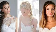 Весільні зачіски з косами