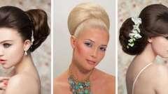 Весільні зачіски з начосом