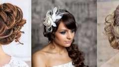 Весільні зачіски з обідком - фото