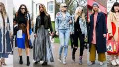 Вулична мода осінь-зима 2016-2017
