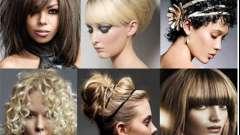 Вечірні зачіски на середнє волосся