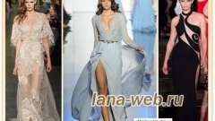 Вечірня мода 2015 - відвертість і жіночність