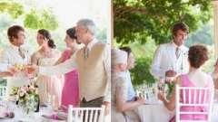 Застільні конкурси на весілля